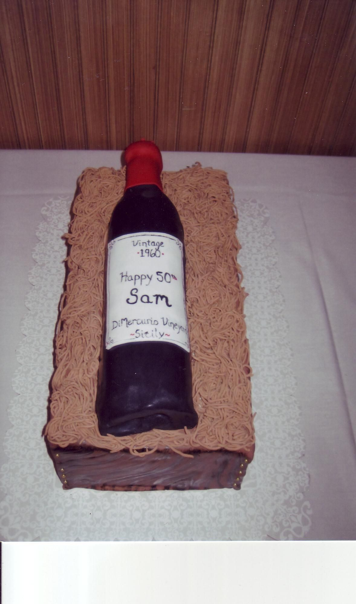 Wine Bottle Cake Cakes By Rosalee And Angelos Blog